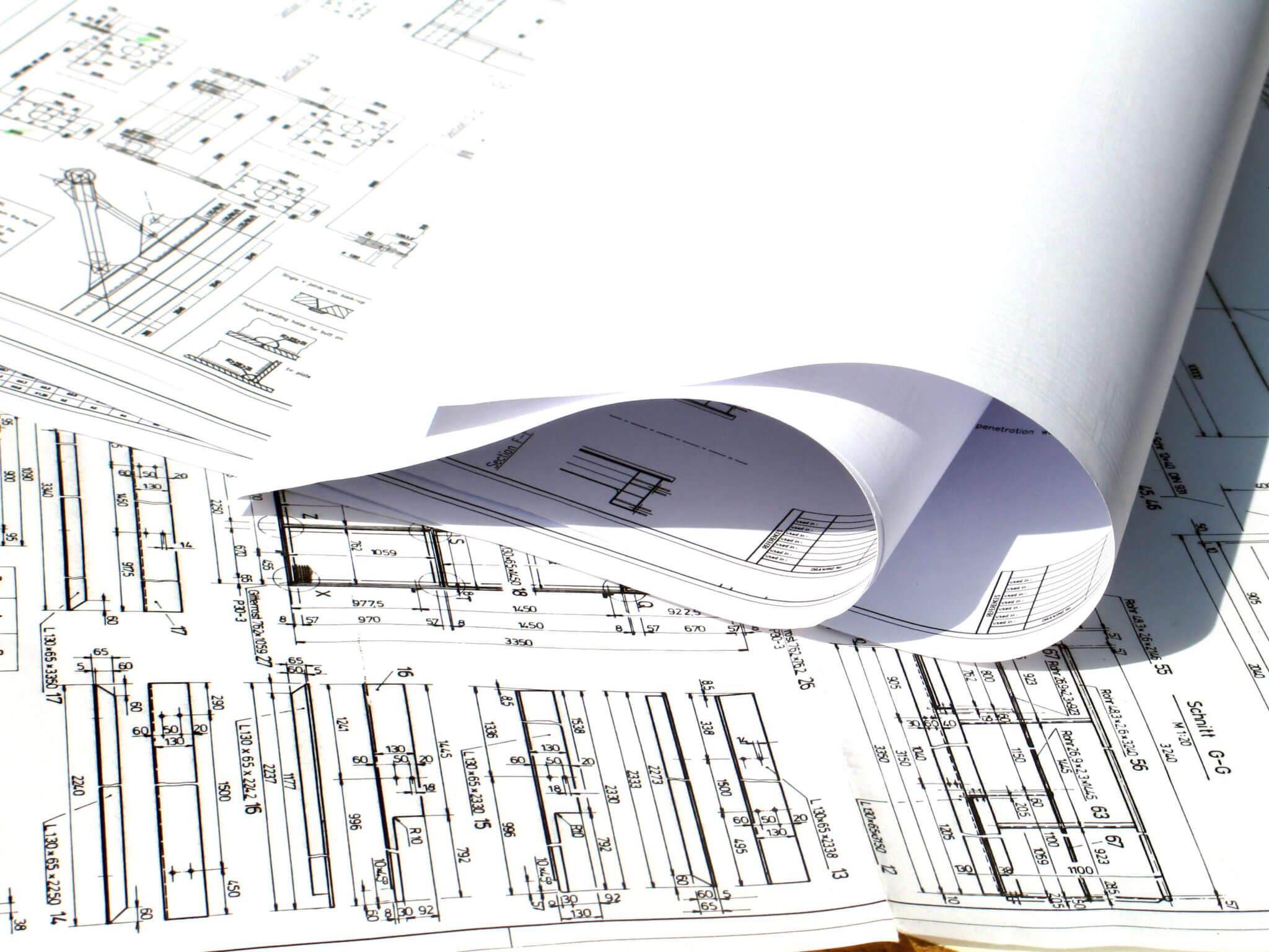 Rakennuspiirustus tulosteet myös säänkestävät työmaakäyttöön